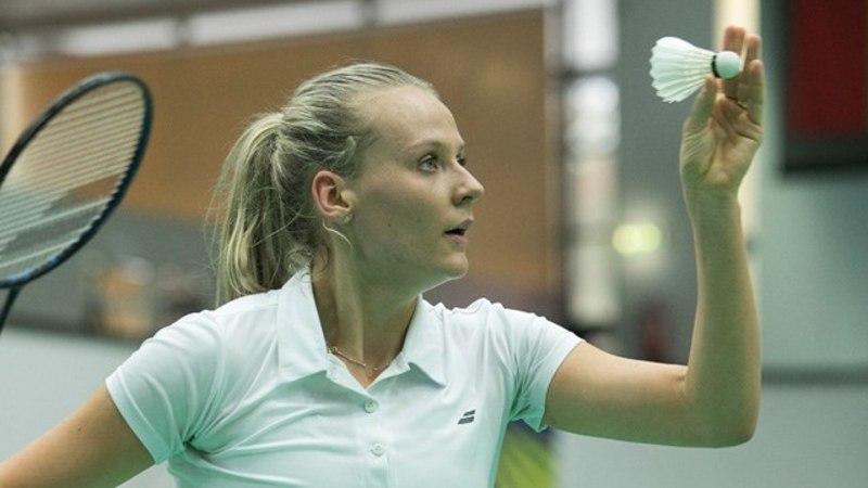 Eesti naispaar Norras finaalis, Kristin Kuuba poolfinaalis