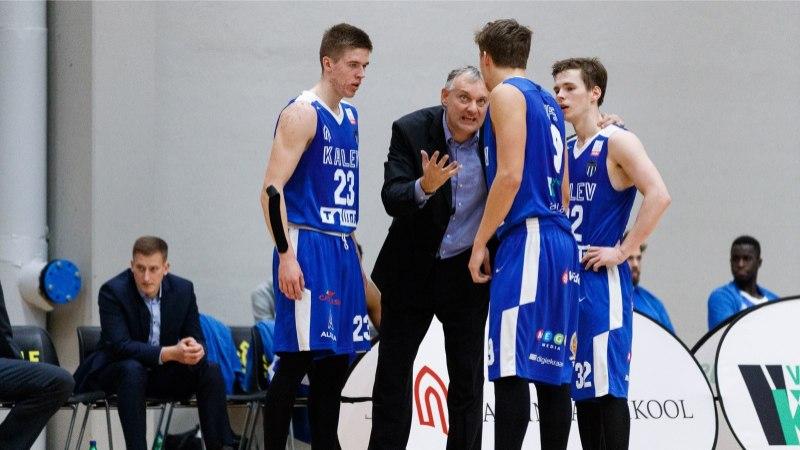 Kalev/TLÜ naasis Eesti-Läti liigas võidurajale