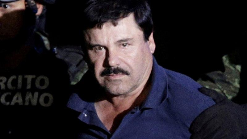 El Chapo: luban, et ühtki minu kohtuprotsessi vandekohtunikku ära ei tapeta!