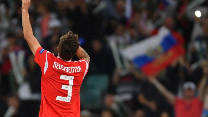 """Üks jalgpallur, kaks identiteeti! """"Laulan kaasa nii Venemaa kui ka Saksamaa hümni!"""""""