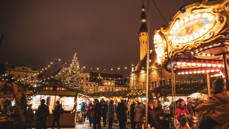 ÕL VIDEO JA FOTOD | Vaata, kuidas avati Tallinna jõuluturg!