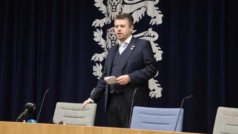 GALERII JA VIDEO | Justiitsminister Reinsalu pöördumine: Ossinovski ei saa mind ja Isamaad põlvili suruda!