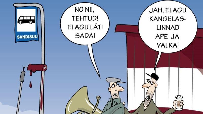 Juhtkiri | Läti on meile nagu ustav pinginaaber