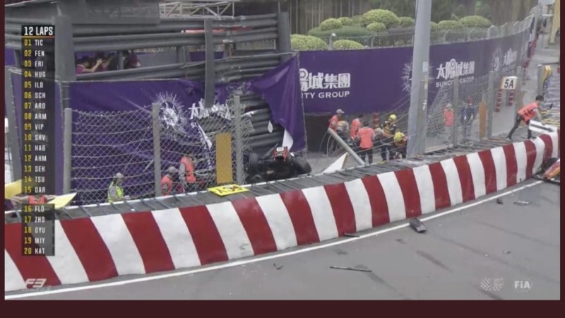 VIDEO | 17aastane sakslanna tegi Macaus peadpööritava avarii ja läheb seljaoperatsioonile