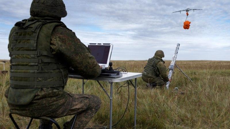 Vene sõjavägi harjutab sõda droonide vastu