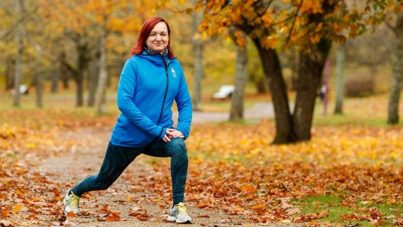 """Liigesehaige naine: """"Oleksin pidanud hakkama endale ratastooli otsima."""" Nüüd suudab ta joosta poolmaratone"""