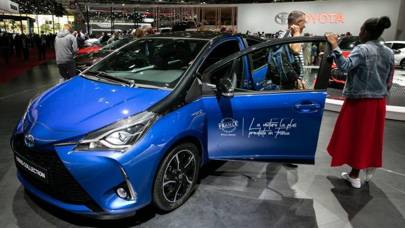 Soome müüduimaks autoks tõusis Toyota Yaris