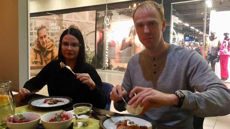 KATSE | Külastasime kaubanduskeskuses asuvat grillirestorani, mis võidab ka taimetoitlaste südame