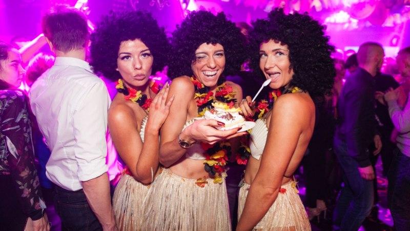 Галерея: жаркая вечеринка BAILE-bon RUSSIAN STYLE отметила свой день рождения в клубе Privé