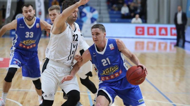 VEFile alla jäänud Kalev/Cramo sai Eesti-Läti liigas esimese kaotuse