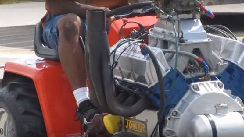 MIDA MASINAT: mees pani murutraktorile 5,8-liitrise mootori!