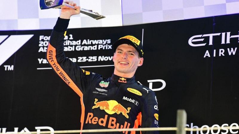 """Abu Dhabis poodiumile tõusnud Verstappen oli viimastel ringidel """"siilike udus"""""""