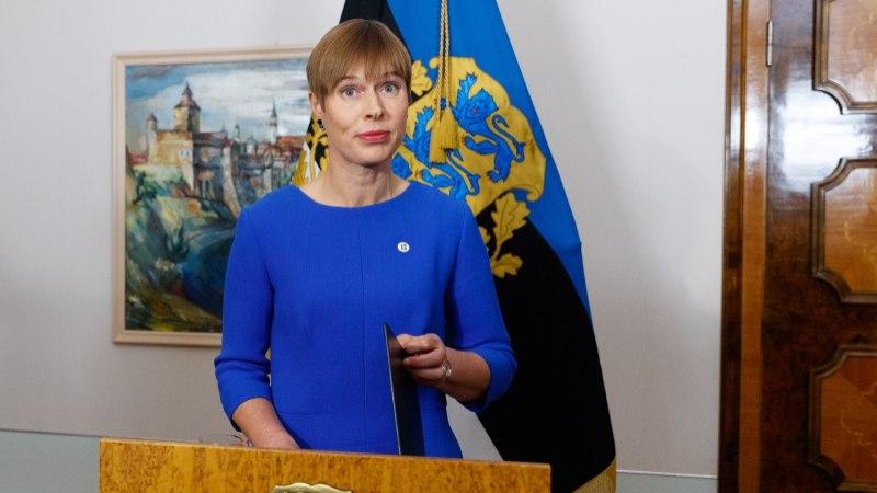 Президент Кальюлайд: нельзя молча соглашаться с военной агрессией России в Азовском море