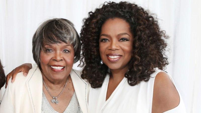 Oprah Winfrey leinab oma ema