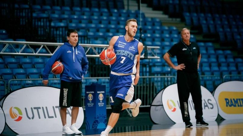 Sobivat pakkumist ootav Siim-Sander Vene saab koondises vajalikku mängupraktikat