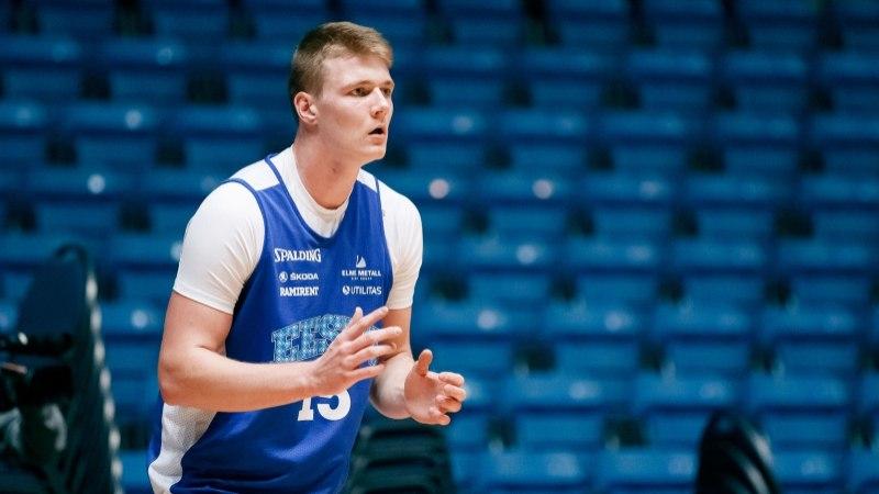 19aastane Kaspar Treier tahab ennast tihedas konkurentsis tõestada ja koondises platsile pääseda