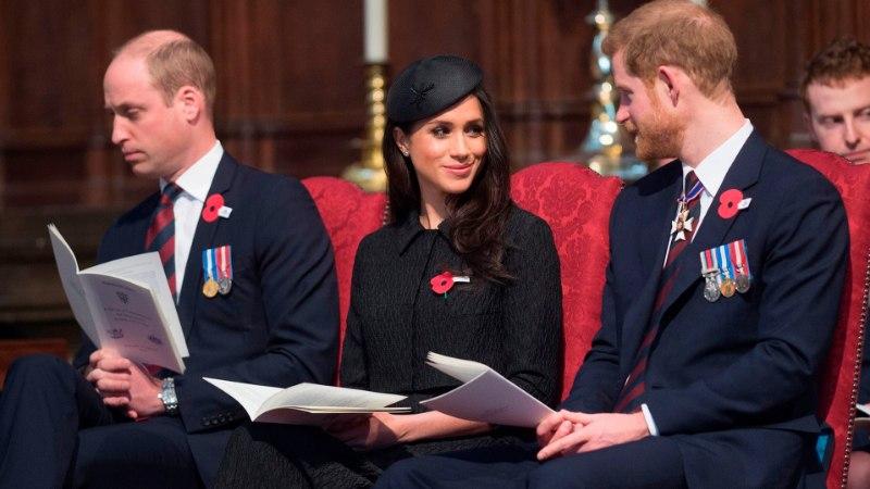 Printsid Harry ja William pöörasid Meghani pärast tülli?