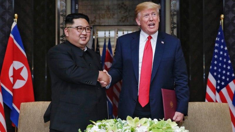 VASTASSEIS: Trump ja Putin ristavad piigid Põhja-Koreas