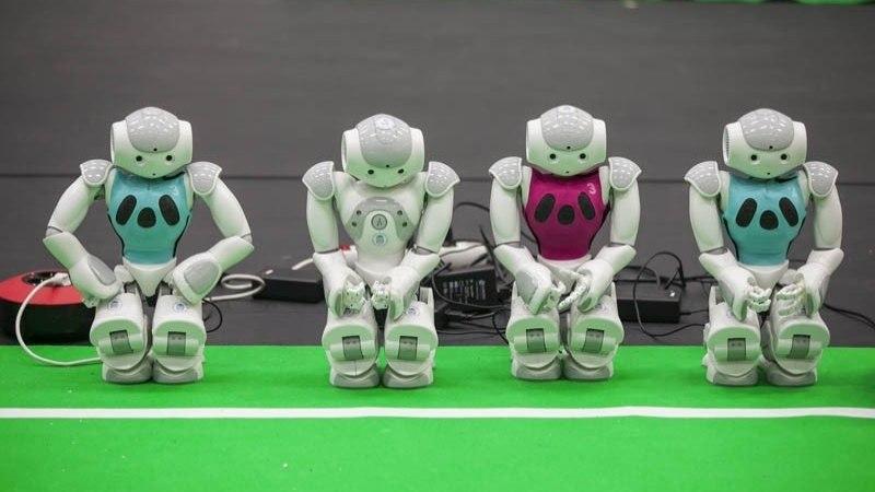 Robotexil näeb robotite korvpalli