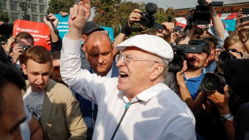 Жириновский затмил Мэй своим танцем в Узбекистане (ВИДЕО)