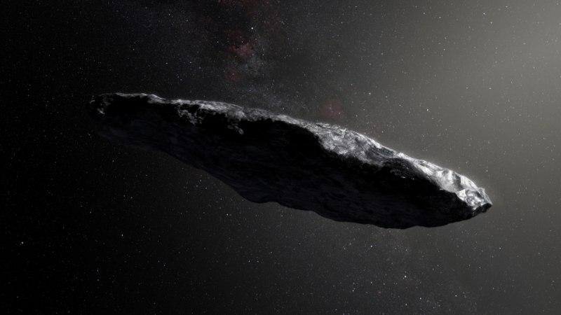 """Ученые: """"межзвездный астероид"""" Оумуамуа может являться кораблем пришельцев"""