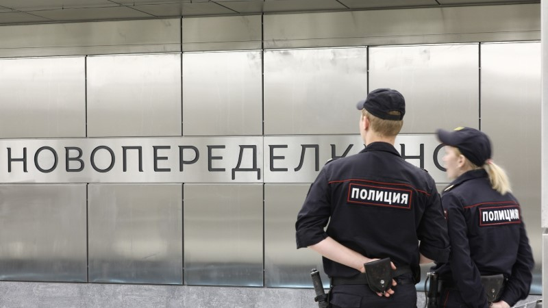 В московском метро полицейский застрелил собаку