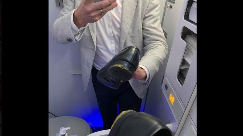 ÖÄK! Õnnetu reisija istus lennukis hunniku koeras**a sisse