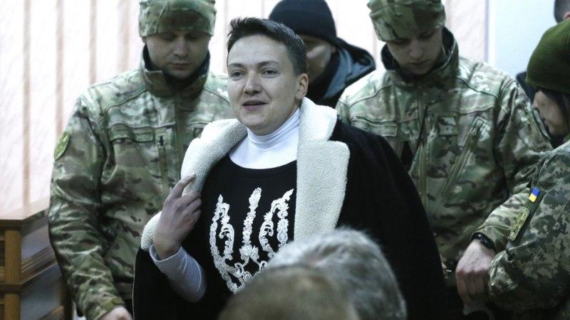 Арестованная за госизмену Надежда Савченко решила идти в президенты Украины