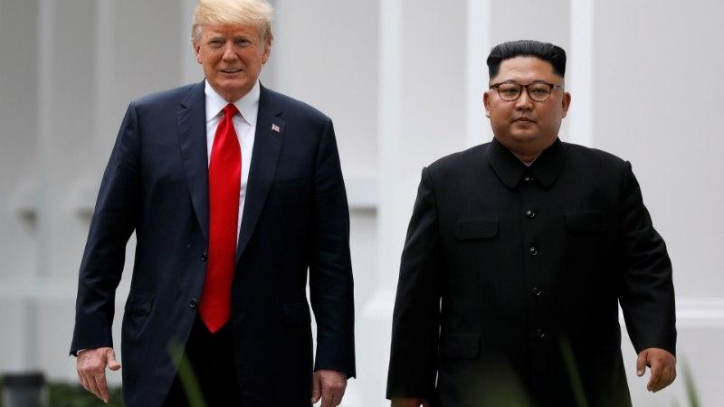 Trump: tahan varsti taas Kimiga kohtuda