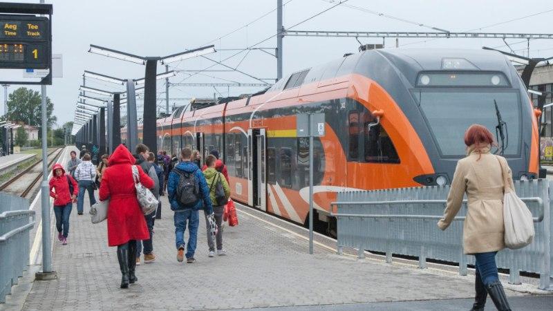Tallinna–Pärnu rongid lõpetavad 8. detsembril