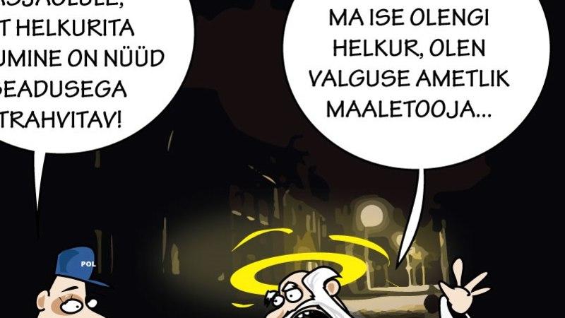 Juhtkiri | Helkur aitab pimedas linnas ellu jääda