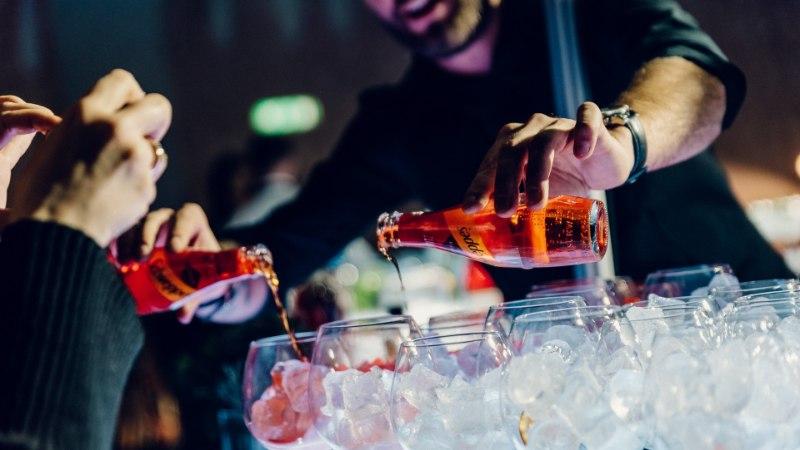 """Галерея: как прошла презентация нового напитка Schweppes в кинотеатре """"Гелиос"""""""