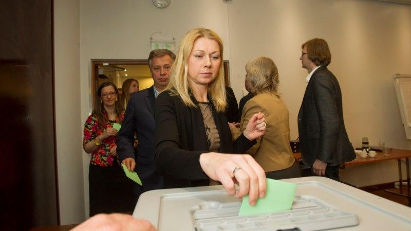 ÜLLATAV AVALDUS? Kristina Šmigun-Vähi kandideerib Tallinna kesklinnas