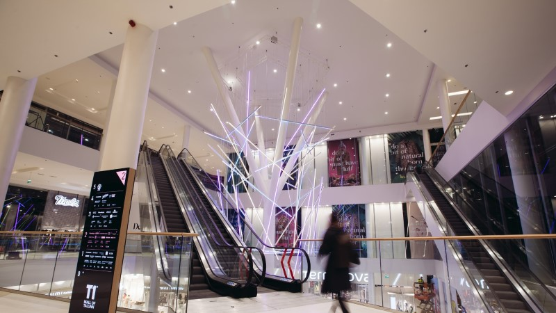 Фото: торговый центр T1 Mall открыл свои двери