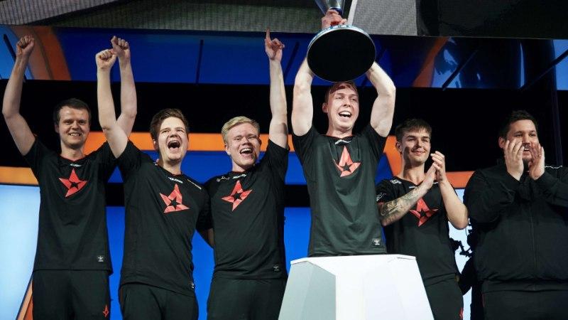 AJALOOLINE HETK! Astralis sai esimeseks tiimiks, kes võitis Intel Grand Slam tiitli