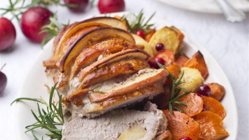 Hasselbacki seafilee peekoni ja õunaga