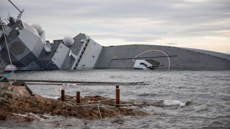 PIINLIK AVARII: miks Norra sõjalaev tankeriga kokku põrkas?