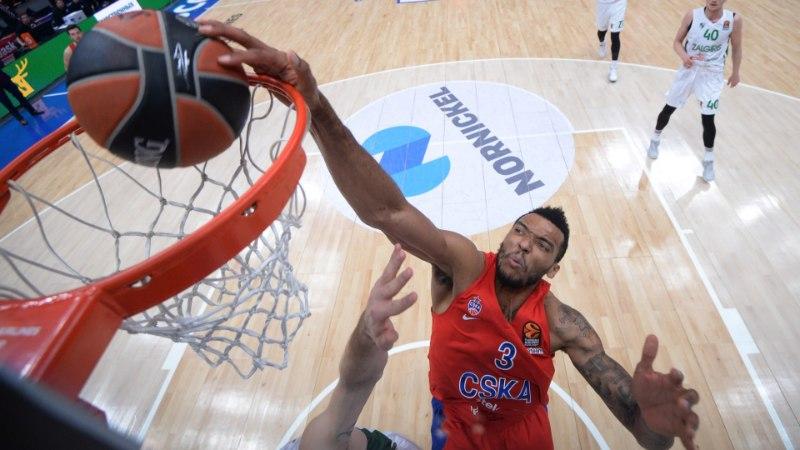 Moskva CSKA ei andnud õige pea Kalev/Cramot võõrustavale Siberi klubile armu