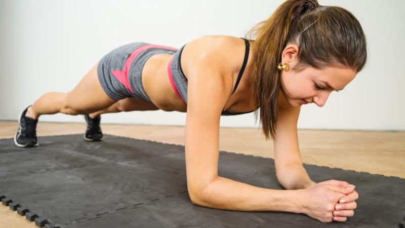 Üheksa lihtsat harjutust, mis aitavad sul end vormis hoida