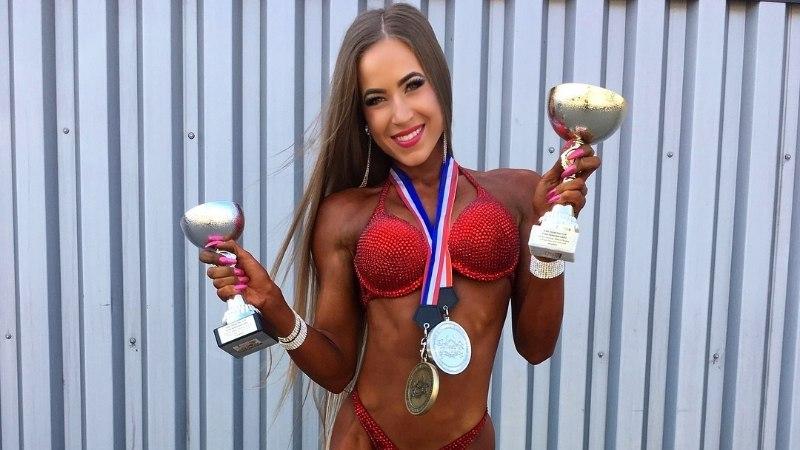 Fitnessikaunitari Arida Muru eneseotsingud ja kannapööre tõid paari aastaga maailmameistri tiitli