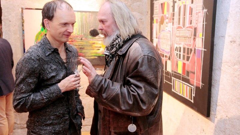FOTOD JA VIDEO | Noored andekad kunstnikuhinged Ingrid Margus ja Martin Saar lahkuvad Eestist