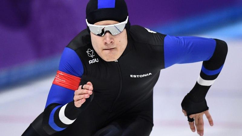 HEA TÖÖ! Marten Liiv uisutas Eesti rekordi ning jõudis MK-sarjas kindlalt punktidele