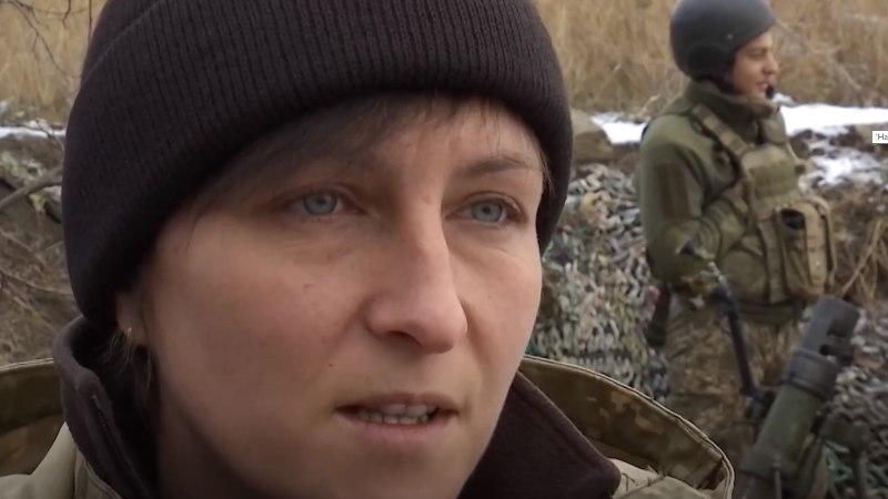 VIDEO | Ukraina naiskomandör juhib rindel oma üksust