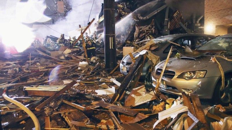 FOTOD   Jaapani restoraniplahvatuses sai viga mitukümmend inimest