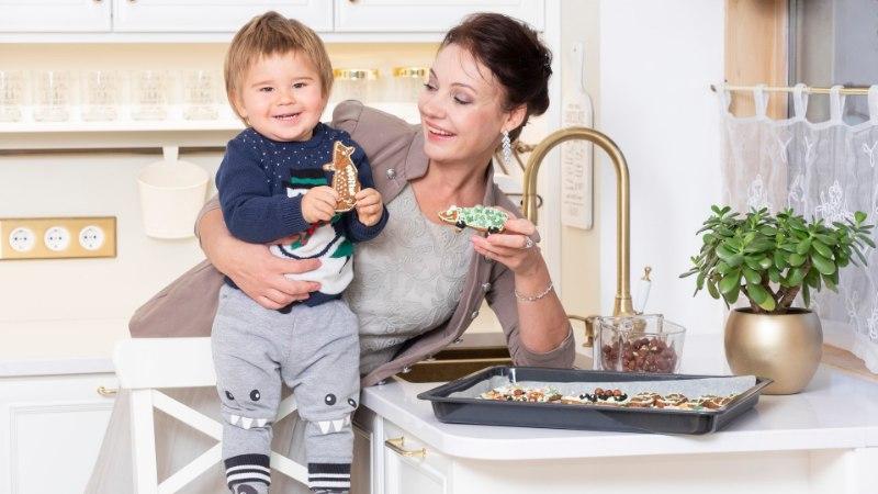 GALERII | Parim jõulukink Marika Korolevile – uus lumivalge köök!