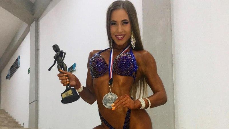 HURRAA! Fitnessistaar Arida Muru lõpetas hooaja järjekordse MM-medaliga