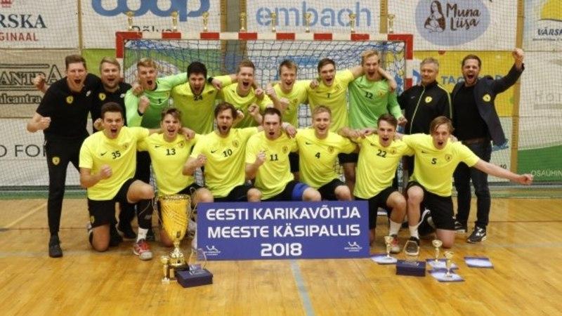 Serviti sai šoki osaliseks! Käsipalli kuldmedalid rändasid hoopis Tallinna