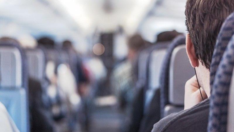 Milline piiritu rõõm – ta oli ainus reisija lennukis!