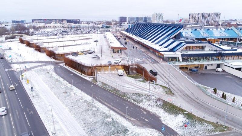 GALERII   Tallinna lennujaamas avatakse Eesti suurim parkimismaja