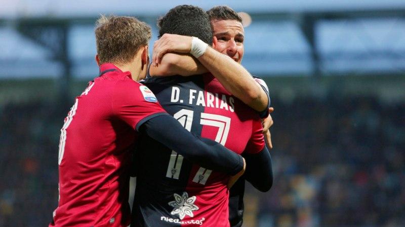 Klavanita Cagliari noppis väärtusliku võidu, Ronaldo päästis Juventusele punkti